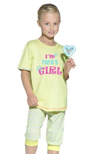 Taro Dětské bavlněné pyžamo s nápisem Bianka