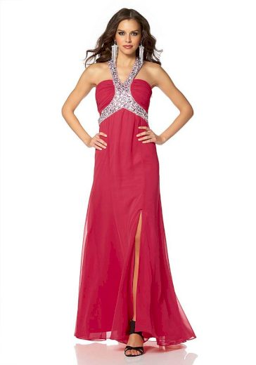 Laura Scott Evening DÁMSKÉ PLESOVÉ ŠATY Laura Scott Evening, plesové šaty červené