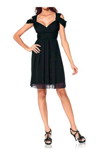 ASHLEY BROOKE EVENT DÁMSKÉ KOKTEJLOVÉ SPOLEČENSKÉ ŠATY ASHLEY BROOKE EVENT, dámské společenské šaty černé