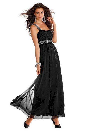 Laura Scott Evening DÁMSKÉ PLESOVÉ ŠATY LAURA SCOOTT EVENING, plesové šaty černé