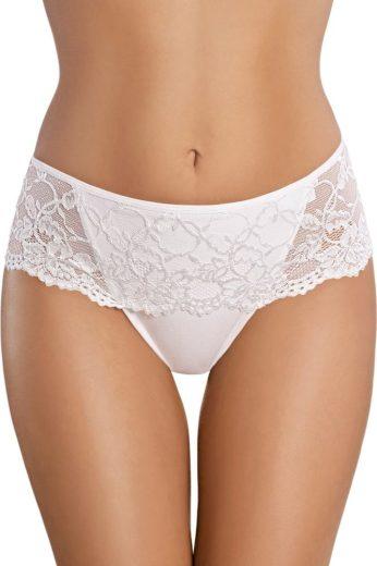 Gabidar Bavlněné kalhotky brazilky s krajkou 39 bílé