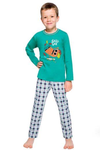 Taro Klučičí pyžamo Leo zelené