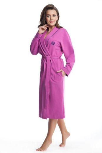 Dorota Dámský bavlněný župan Daphne růžový