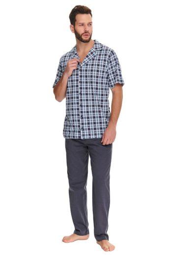 DN Nightwear Pánské pyžamo Noah kárované