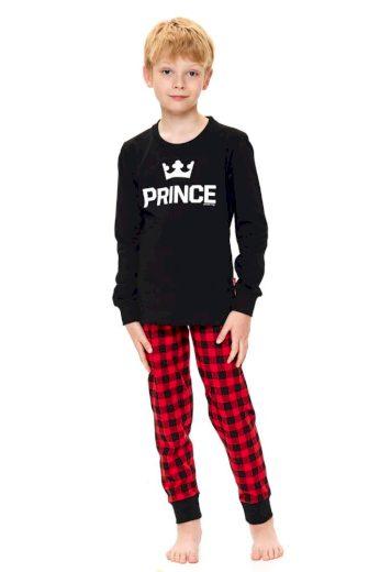 DN Nightwear Chlapecké pyžamo Prince černé