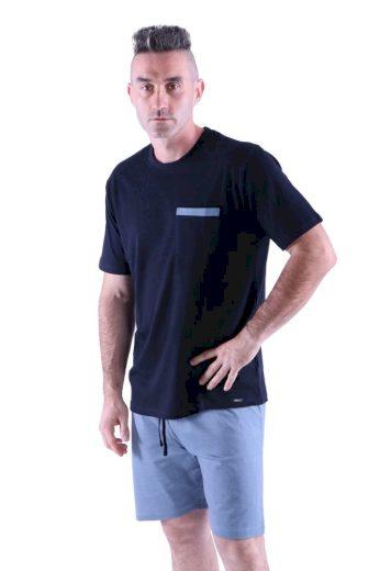 Rössli Pánské pyžamo Matty černé