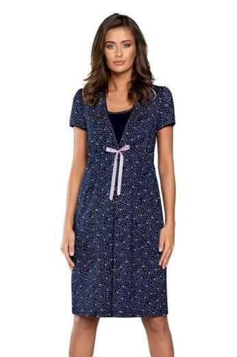 Italian Fashion Mateřská noční košile Elba tmavě modrá