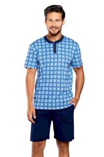Italian Fashion Pánské pyžamo Serafin modré