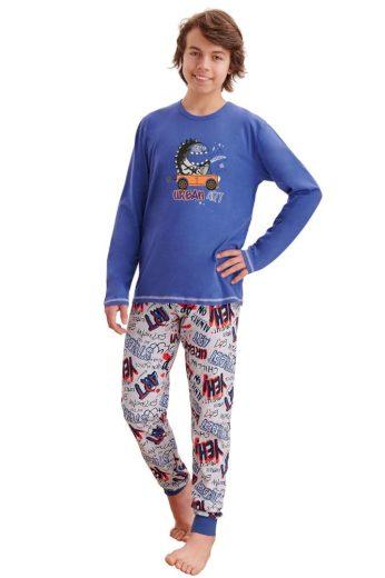 Taro Chlapecké pyžamo Miloš tmavě modré