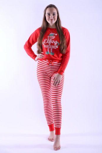 Vienetta Secret Dámské pyžamo Caytlin červené