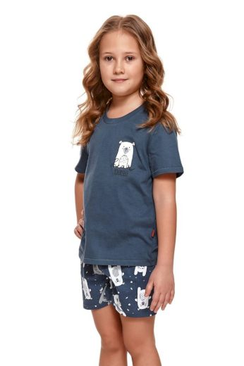 DN Nightwear Dětské pyžamo Bear modré
