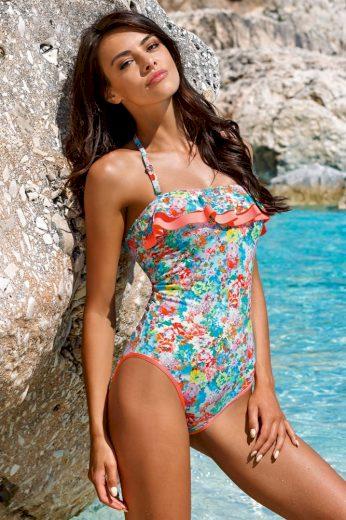 Lorin Jednodílné plavky Lilian s květy