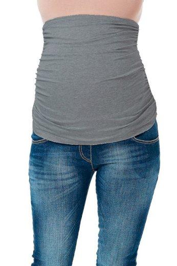 9fashion Těhotenský pás šedý