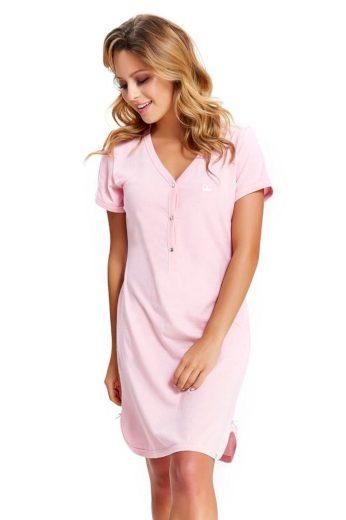 DN Nightwear Noční košile Lor korunka světle růžová