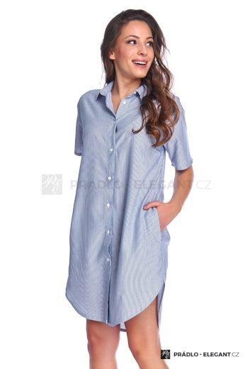 DN Nightwear Dámská noční košile Gabi pruhovaná