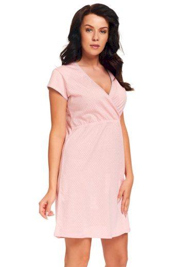 DN Nightwear Kojicí noční košile Monita růžová