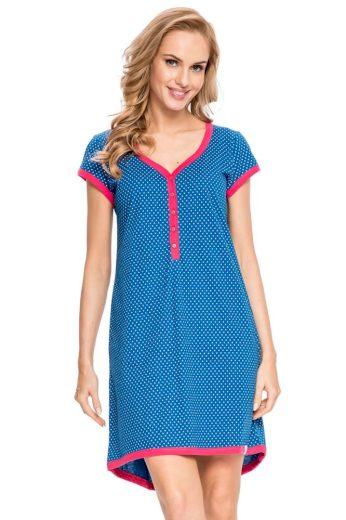 DN Nightwear Dámská noční košile Diti modrá