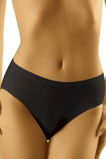 Dámské kalhotky s vyšším pasem Comforta černé