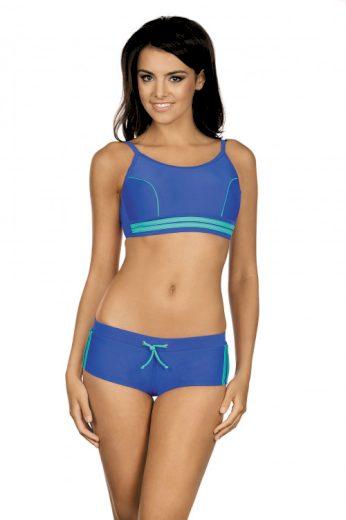 Sportoví plavková podprsenka Laura modré