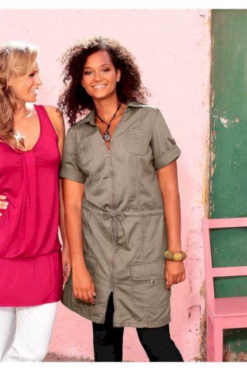 Letní šaty ve stylu Safari Your Life Your Fashion (vel.42 skladem)