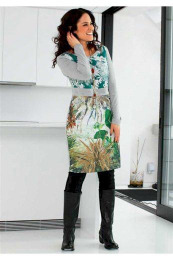 Šaty SHEEGO, móda SHEEGO pro ženy s plnějšími tvary (vel.52 skladem)