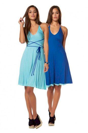 Oboustranné letní šaty AJC