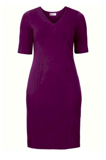 Šaty SHEEGO, pouzdrové šaty pro plnoštíhlé (vel.52 skladem)