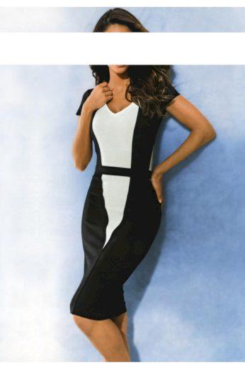 Černobílé šaty, Class International