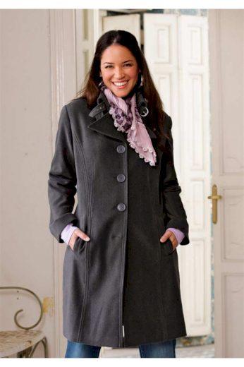 Early 20, šedý dámský kabát