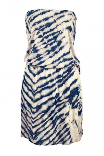 Billabong, šaty s batikovaným vzorem