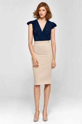 Úzká pouzdrová dámská sukně Nife (vel.44 skladem)