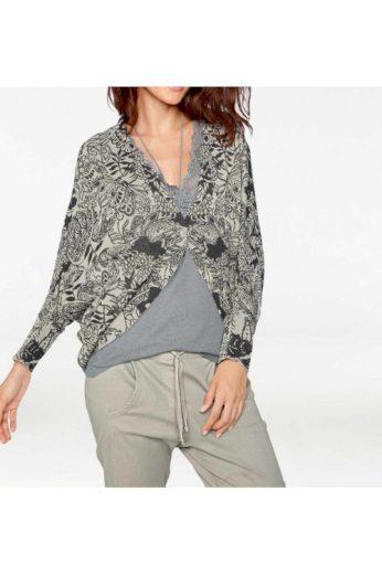 Žakárový pletený svetr, Linea Tesini