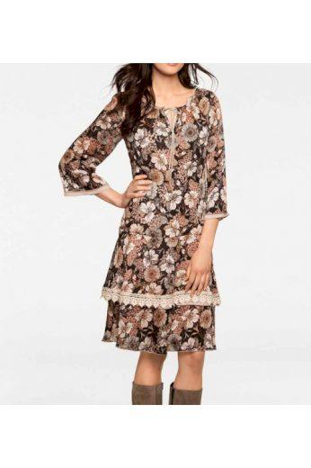 Šaty s potiskem, Linea Tesini