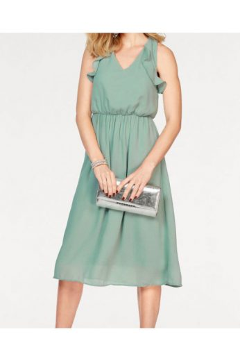 VERO MODA, dámské šaty s volány