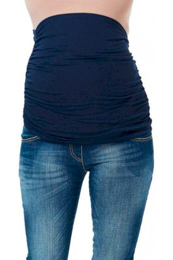 Těhotenský pás tmavě modrý