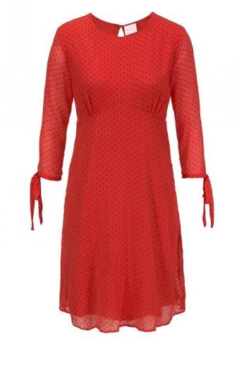 VILA Clothes, značkové šifonové šaty