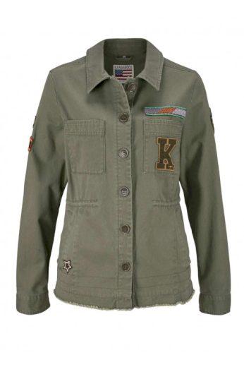 Dámská bunda v military looku, KangaROOS