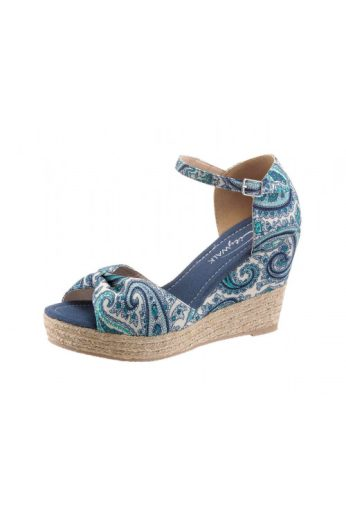 Obuv na klínku, klínová obuv, sandály na klínu, City Walk