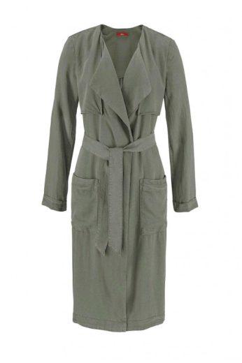 S.Oliver, lehký stylový dámský twillový kabát
