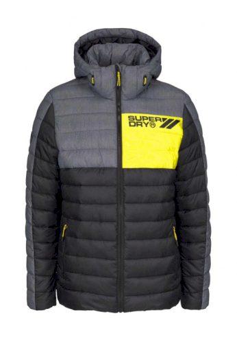 Teplá zimní pánská prošívaná značková bunda, Superdry (3XL skladem)