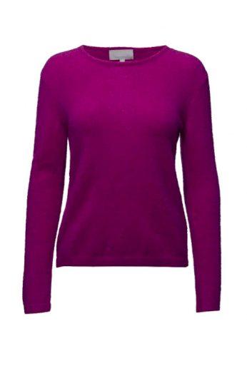 Vlněné svetry, luxusní dámský svetr z vlny a mohéru IN WEAR