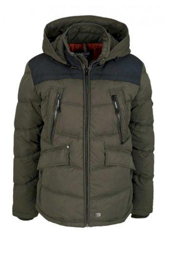 Pánská vatovaná zimní bunda, KHUJO