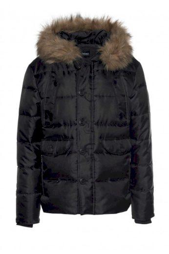 Černá zimní prošívaná pánská bunda, Bruno Banani (vel.3XL skladem)