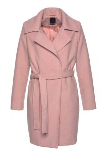 Jednoduchý rovný kabát s páskem, Laura Scott (vel.46 skladem)