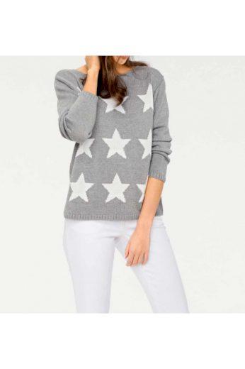 Dámský svetr s vyplétanými hvězdami, Rick Cardona