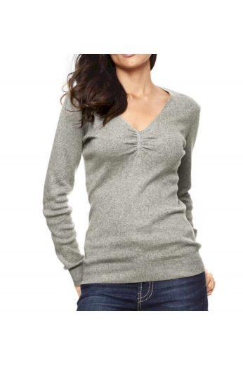 Kvalitní svetr z bavlny a hedvábí, Patrizia Dini