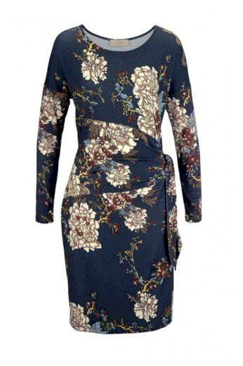 Žerzejové šaty s květy CREAM