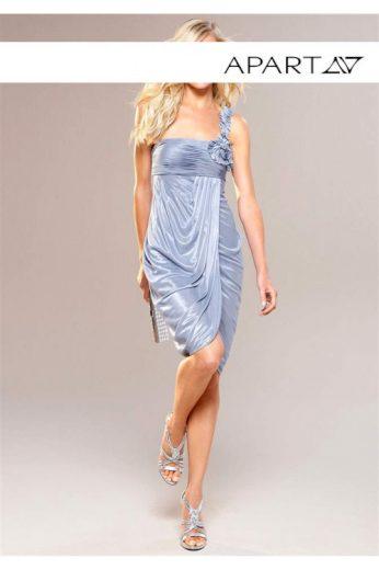 Večerní šaty ve světle modré barvě, APART