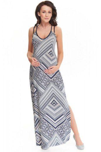 Maxi šaty Marion se vzorem