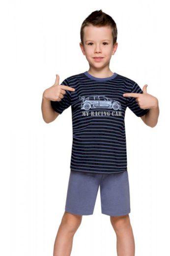 Chlapecké pyžamo s autem Max proužky